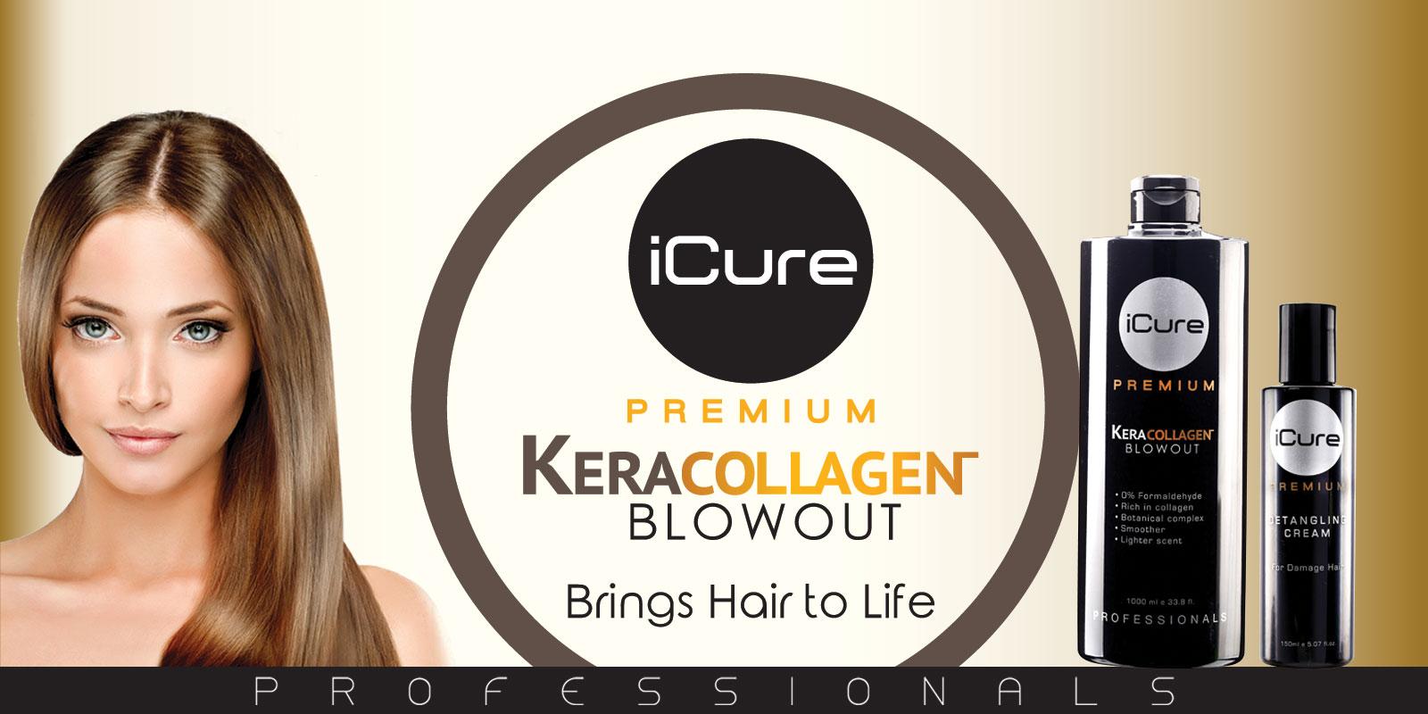 iCure Premium Kera Collagen Blowout